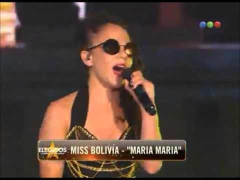 Miss Bolivia - Presentación del tema de