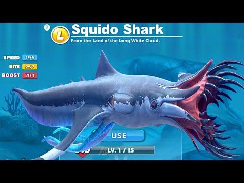 Hungry Shark World - New Shark Coming Soon Update - All 30 Sharks Unlocked