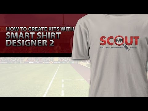 Football Manager 2016 Tutorial How To Create Kits With Smart Shirt Designer 2