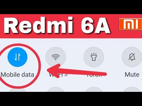 Redmi Note 6a || How To Change Data Connection || Sim Card internet Change