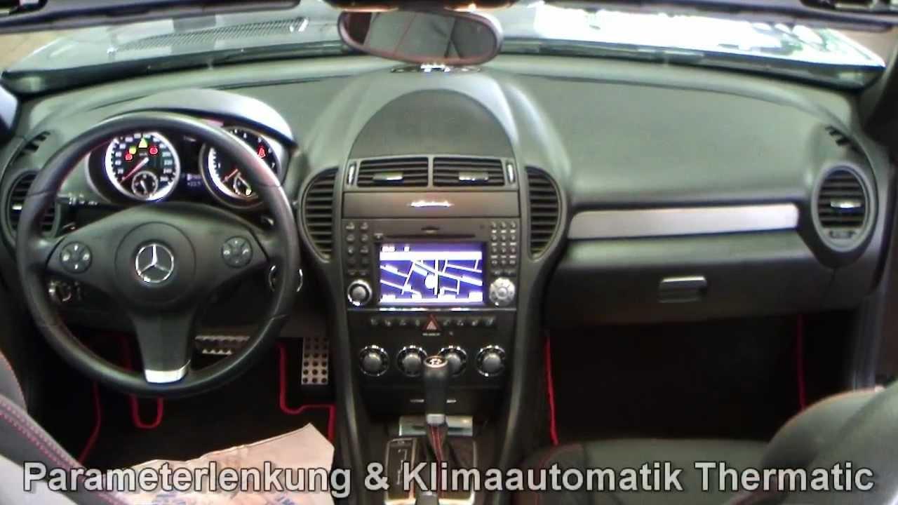 Mercedes Benz Slk 200 Kompressor Roadster Sportpaket Obsidian 1f229454 Www Autohaus Biz Czychy