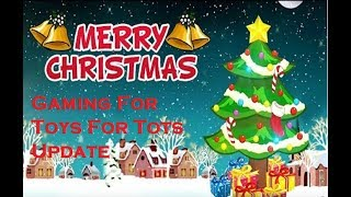 Merry Christmas  Toys For Tots Charity Update