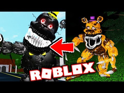 New Aftons Family Diner Free Animatronic Animations! Five Nights At Freddy's Roblox RP thumbnail