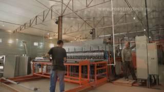 видео Металлические панельные ограждения серия заборы из сварной сетки цена