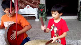 Dylan the 8 year old Lion Dance Drummer! thumbnail