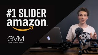 #1 BEST Budget Motorized Camera SLIDER/ DOLLY (2018) | GVM Model Comparison