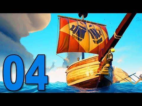 Sea of Thieves - Part 4 - HIJACKING AN ENEMY SHIP!