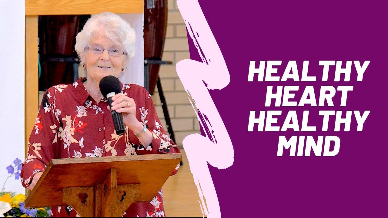 Healthy Heart, Healthy Mind - Jennifer Rees Larcombe & Carol Bostock