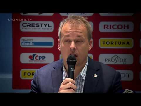 Press Conference   SK Slavia Praha Cashback Card operated by Lyoness CZ