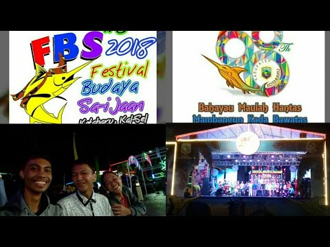 Vlog Spesial festival budaya saijaan Kotabaru 2018