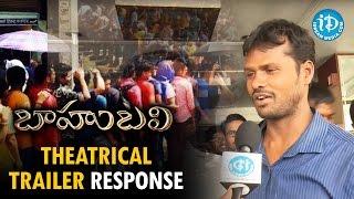 Baahubali Theatrical Trailer Response - Prabhas, Rana Daggubati | Rajamouli | Bahubali Trailer