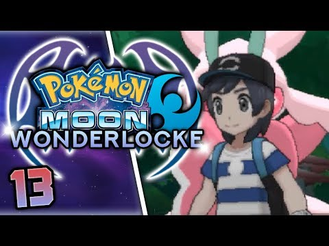 A TOUGH BATTLE WITH THE TOTEM LURANTIS! Pokemon Moon Wonderlocke Part 13 w/ HDvee