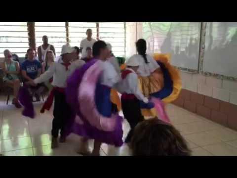 Children in Costa Rica dancing 1