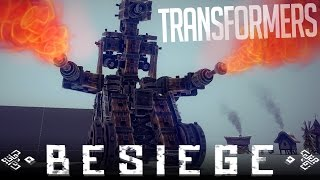 Besiege Alpha Sandbox Gameplay | Best Transformer Designs (Transforming Robots) [Download]