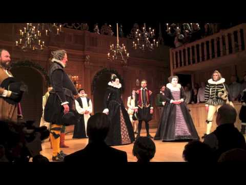 TWELFTH NIGHT - Cast Bows on Opening Night