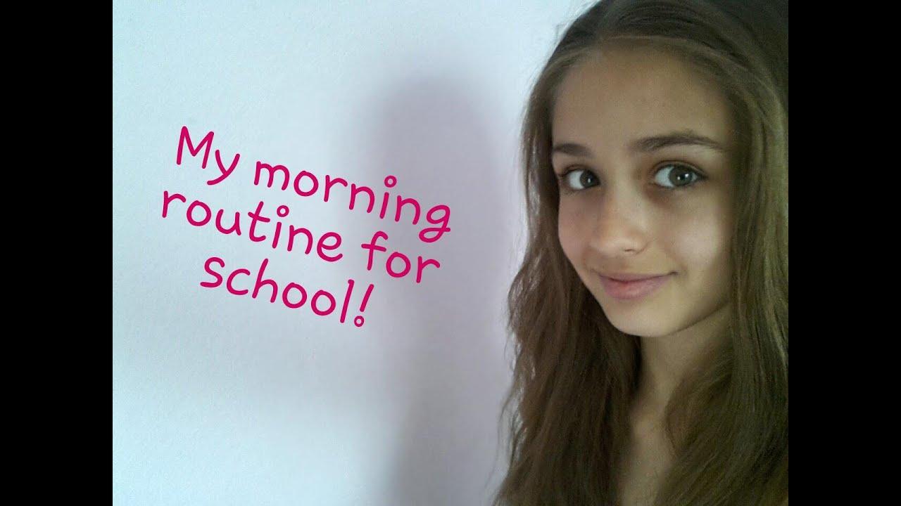 My morning routine! (School version)