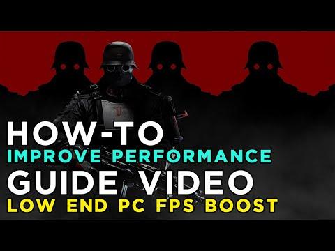 Make Wolfenstein The New OrderOld Blood Run at 144Fps