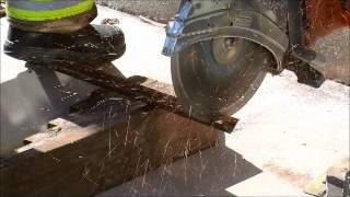 The EXTRACTOR-II Rescue Blade™ -  Cutting Angle Iron