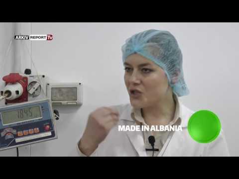 """Report TV - Made in Albania viziton fabrikën e sallamit """"FIX"""" në Korçë"""