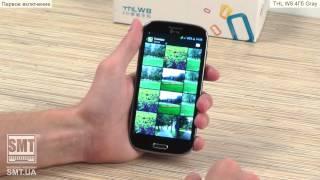 Видео обзор на китайский телефон / смартфон THL W8