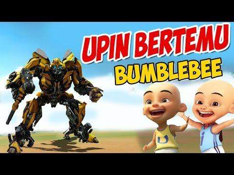 upin-ipin-bertemu-bumblebee-,-ipin-senang-!-gta-lucu