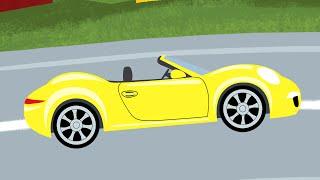 Детская песенка - Светофор - Мультик про машинки(Обучающий мультик для детей, песенка про правила дорожного движения -