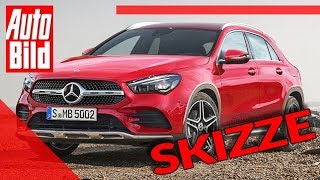 Mercedes GLA (2020): Neuvorstellung - Skizze - SUV - Infos