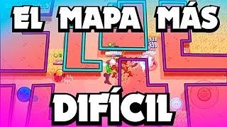 ¡¡EL MAPA MÁS DIFÍCIL PARA HACER MAESTRO DEL SHOWDOWN!! | Brawl Stars