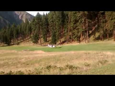 Walt Arriving at Allison Ranch