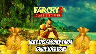"FAR CRY 3 CLASSIC EDITION:""VERY EASY MONEY FARM LOCATION""(PS4,XBOX ONE,PC)"""
