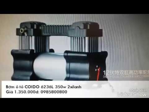 Bơm ô tô chuyên dụng COIDO 6236L 350W 2 xilanh.