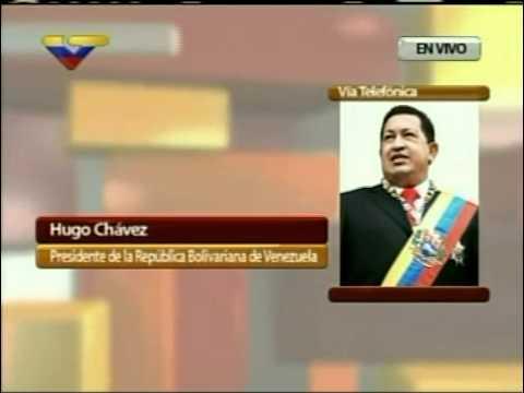 """28 JUN 2011 Contacto Pdte Hugo Chávez en el programa """"Toda Venezuela"""""""