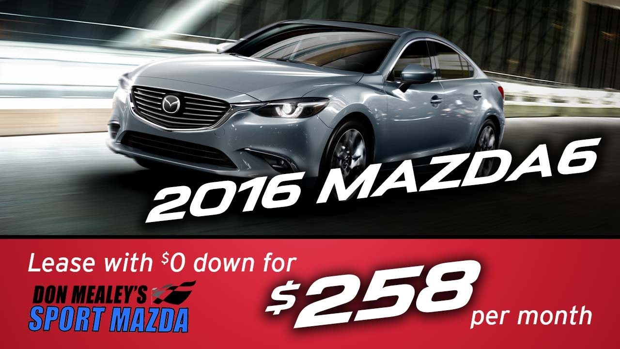 New 2016 Mazda6 Leasing And Finance Specials At Sport Mazda Orlando | April  2016