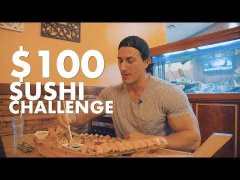 $100 DOLLAR SUSHI CHALLENGE