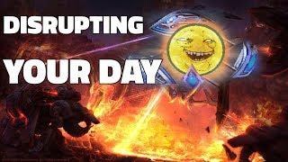 Starcraft 2: DISRUPTING YOUR DAY thumbnail