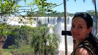 Cataratas del Iguazu - Аргентинская сторона + Сюрприз от Паши:)))