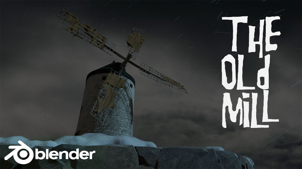 The Old Mill - Blender animation with fracture modifier