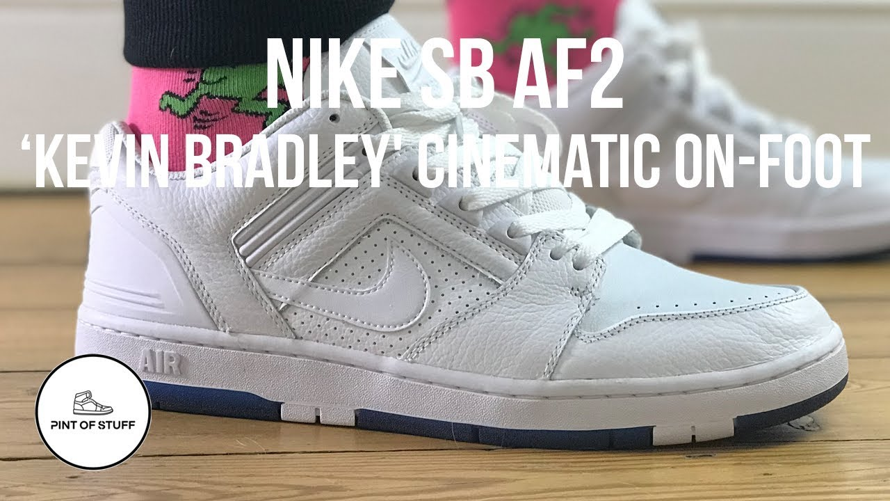 1723ab5f45623 OnFoot Cinematic Look at the Nike SB AF2  Kevin Bradley  Sneaker ...