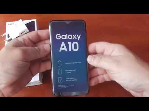 Обзор смартфона Samsung Galaxy A10 (A105F)