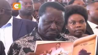 Raila Odinga defends his fight against corruption