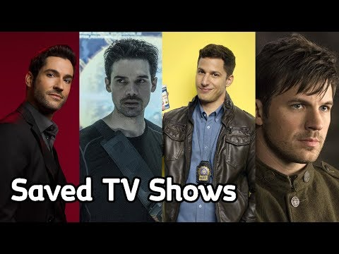 2018 Saved TV Shows By Other Networks