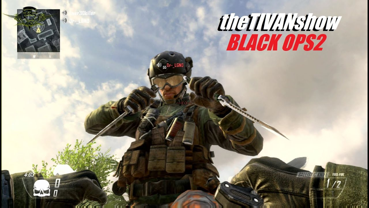 BLACK OPS2  - LIVE STREAM - TEA BAG KING in the HOUSE - PS3