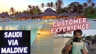 Saudi Via Maldive Review 23 August Group