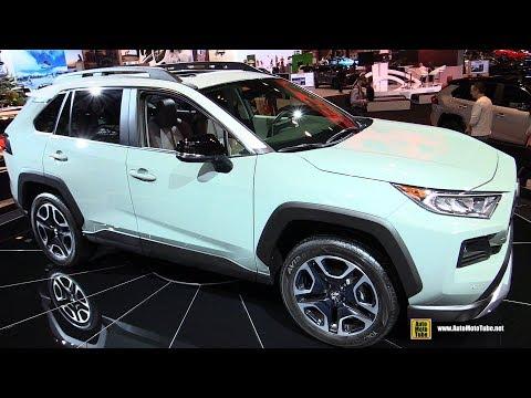 2019 Toyota Rav4 Adventure - Exterior and Interior Walkaround - 2019 Chicago Auto Show