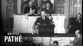 """Truman's Speech """"A Fateful Hour"""" (1947)"""