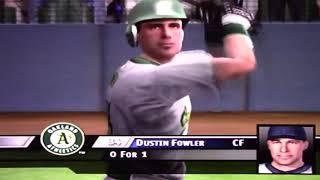 MVP Baseball 2005 (2018) Gameplay for Playstation 2 - Athletics at Rockies on 9/13/18
