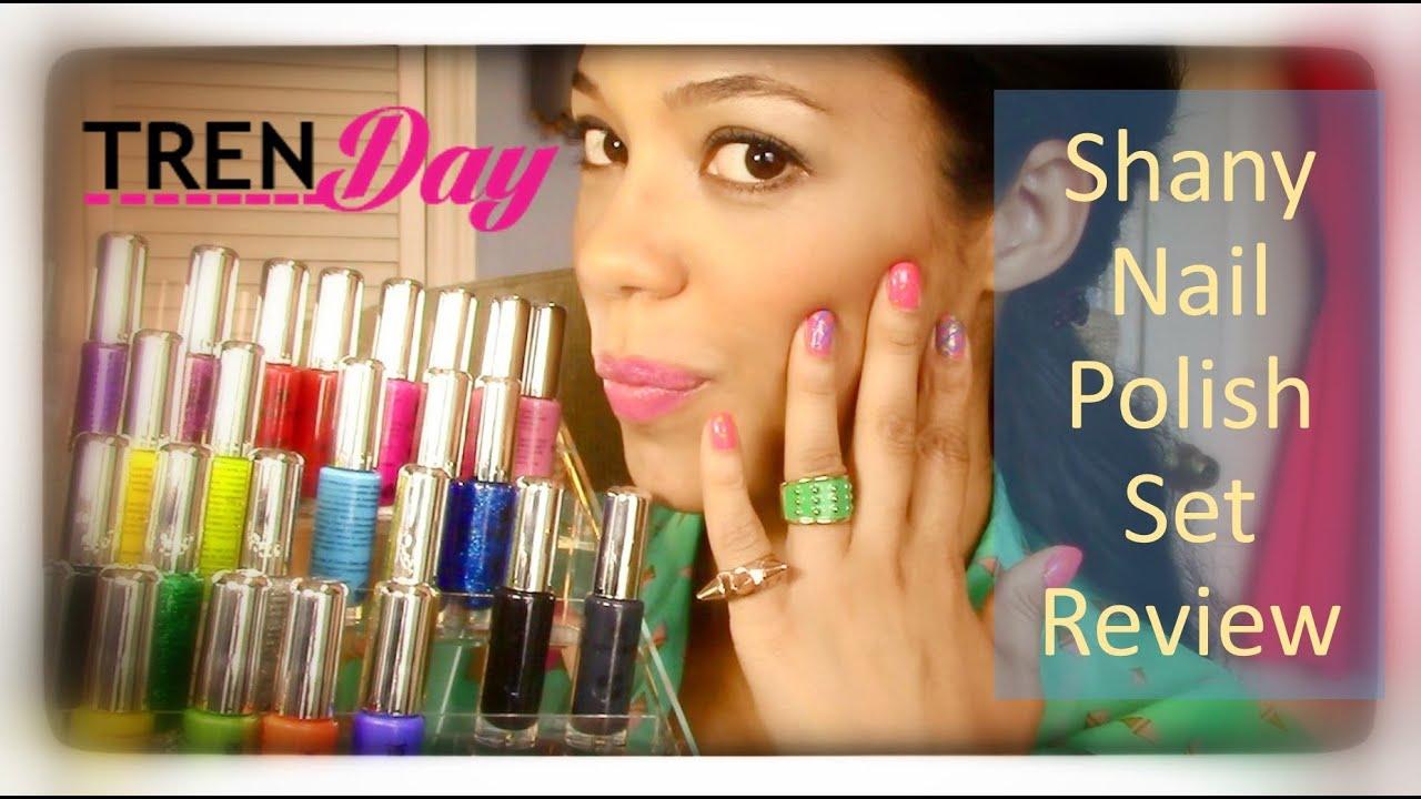 SHANY 24 Nail polish set review - YouTube