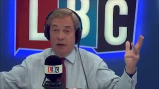 Nigel Farage Discusses Manchester Terror Attack