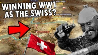 So I Tried To Win WW1 As Switzerland On The Great War Total War