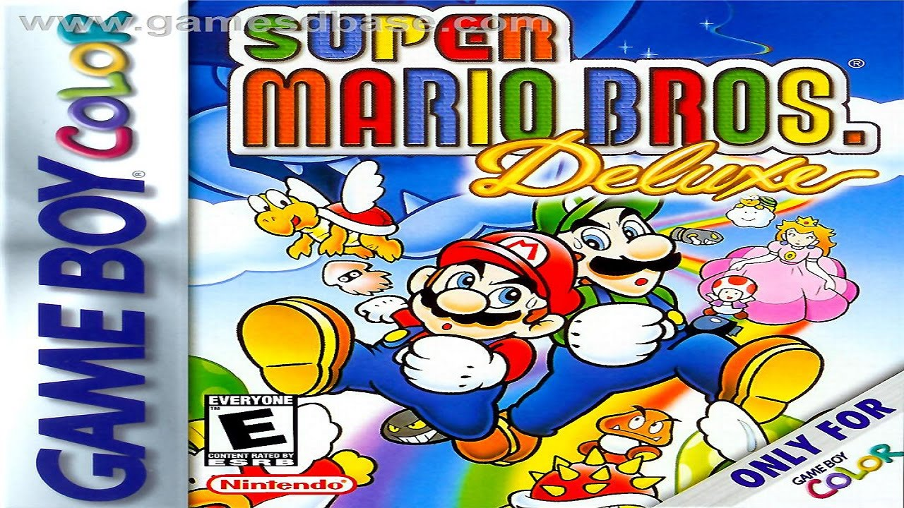 Super Mario Bros Deluxe Gameplay Longplay Gbc Youtube
